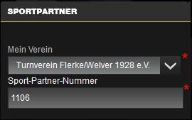 Die Sport-Partner-Nummer vom Turnverein Flerke/Welver 1928 e. V. ist: 1106
