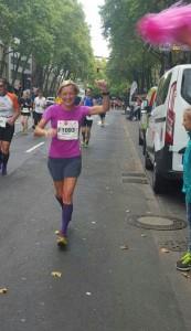 Es läuft gut über die Marathonstrecke