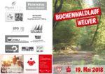 Einladung zum 17. Buchenwaldlauf am 19.05.2018 (Pfingstsamstag)